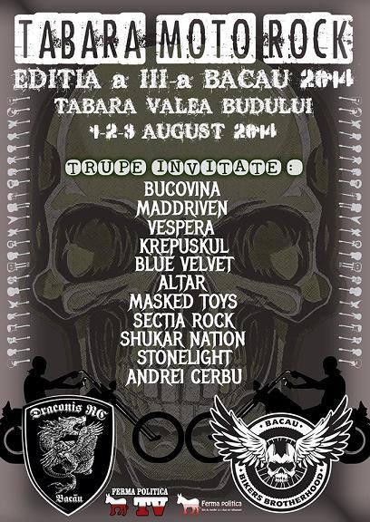 tabara moto rock